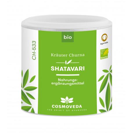 cosmoveda organic shatavari churna 100g | Bio-Rama Shatavari EKO