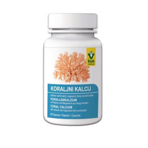 koraljni kalcij raab 80kapsula raab 9600796098624   Bio-Rama Koraljni kalcij